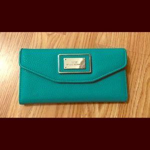 Teal/Turquoise Lulu Wallet